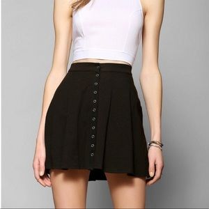 Urban Outfitters Black Circle Skirt